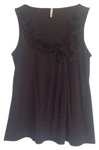 Olivia Moon Feminine Cute Top Black