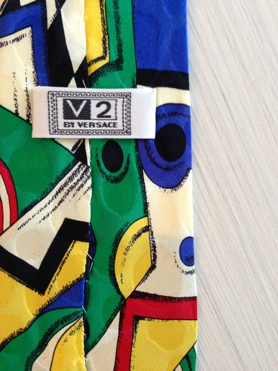 Versace Versace VIntage Abstract Print Tie