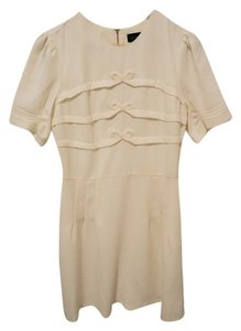 Topshop short dress Cream Mini on Tradesy
