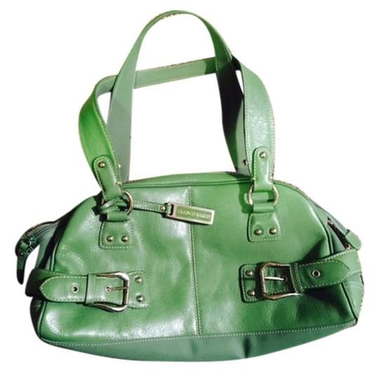 Franco Sarto Handbag Leather Satchel in Green