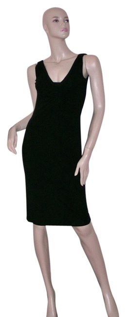 Preload https://item1.tradesy.com/images/narciso-rodriguez-black-rouched-tank-knee-length-night-out-dress-size-4-s-6131590-0-0.jpg?width=400&height=650