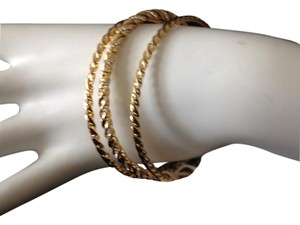 Giles & Brother 75% Off -- Giles & Brother Gold Plated Bracelet Set