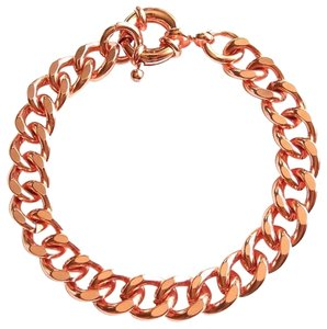 Elliot Francis Rose gold chain bracelet