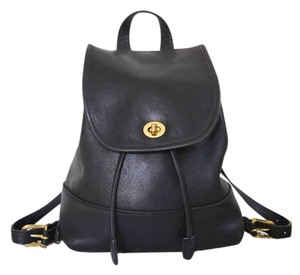 Coach Designer Leather Backpack
