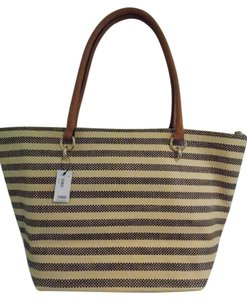 The Limited Tote in Tan and Black