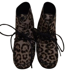 Isabel Marant Leopard (black and brown) Boots