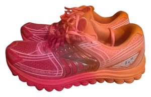 Brooks pink/orange ombre Athletic