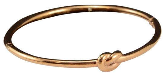 Michael Kors Michael Kors Knot Hinge Rose Gold Bracelet new with Pouch