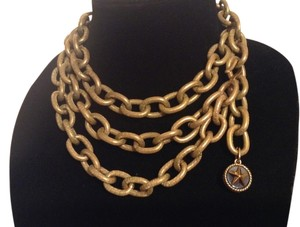 Chanel CHANEL RARE VINTAGE STAMPED '94P CHAIN LINK NECKLACE / BELT