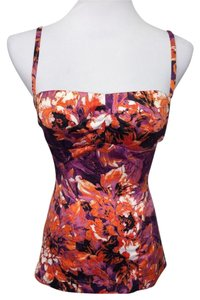 Just Cavalli Top floral purple-orange