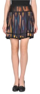 Diane von Furstenberg Mini Skirt Multi-Color