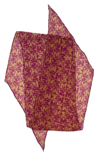 Preload https://item5.tradesy.com/images/missoni-pink-and-gold-monogram-silk-scarf-6136054-0-0.jpg?width=440&height=440