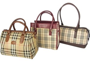 Burberrys,BURBERRY Satchel in Beige,Brown