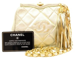 Chanel Vintage Metallic Shoulder Bag