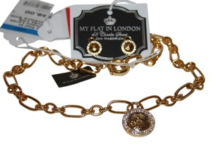 My Flat in London My flat in london loves locks links necklace and earrings