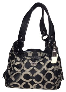 Coach Madison Maggie Shoulder Purse Canvas Shoulder Bag