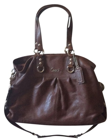 Preload https://item4.tradesy.com/images/coach-ashley-brown-leather-satchel-6142468-0-0.jpg?width=440&height=440