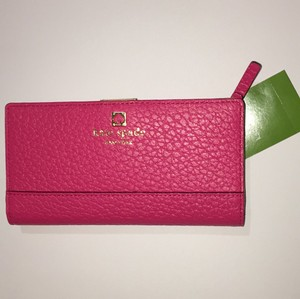 Kate Spade Southport Ave. Stacy Wallet Wristlet in RNG WLD PINK