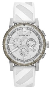 Burberry Burberry The City Rubber Chrono Watch