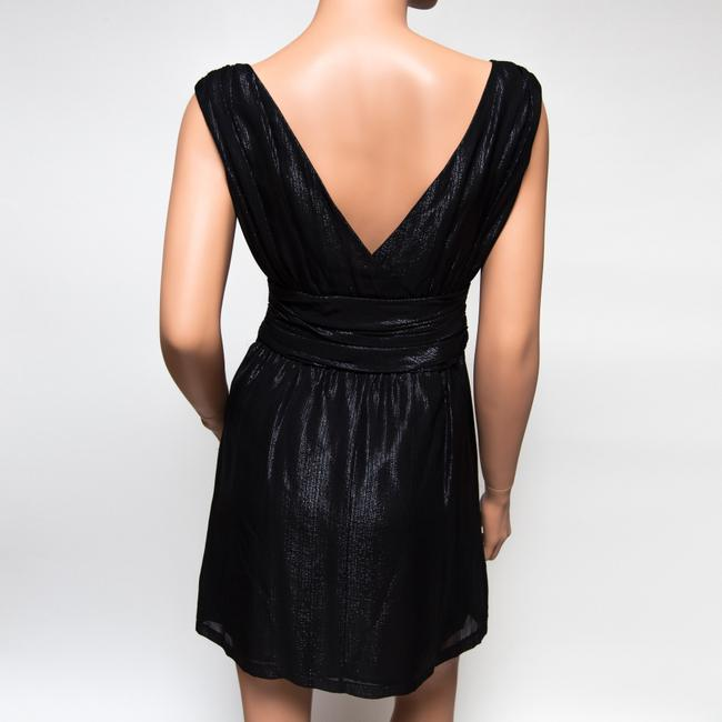 Twelfth St. by Cynthia Vincent Sexy V-neck Silk Dress