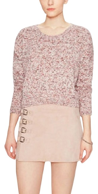 Preload https://item1.tradesy.com/images/avaleigh-pink-marled-crewneck-sweaterpullover-size-12-l-6143785-0-0.jpg?width=400&height=650