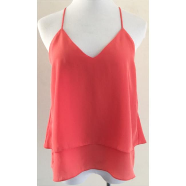 Lovers + Friends Top Coral