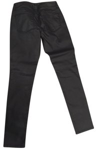 The Limited Coated Denim Skinny Jeans-Coated