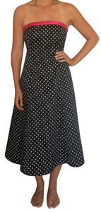Niki Lavis Dot Tool Laced Back Dress