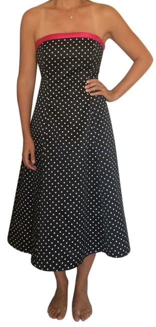 Preload https://item4.tradesy.com/images/niki-lavis-black-with-white-polka-dots-prom-34-length-and-w-pink-ships-free-mid-length-cocktail-dres-6144283-0-0.jpg?width=400&height=650