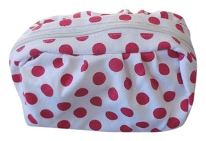 Other White with Red Polka Dots Accessories Bag