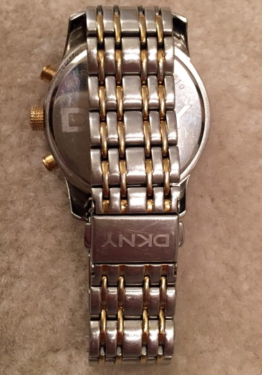 DKNY DKNY silver and gold watch