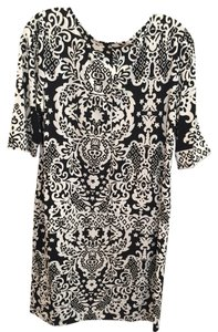 Tiana B. Patterned Flattering Dress