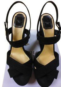Dior Made In Italy Black Wedges
