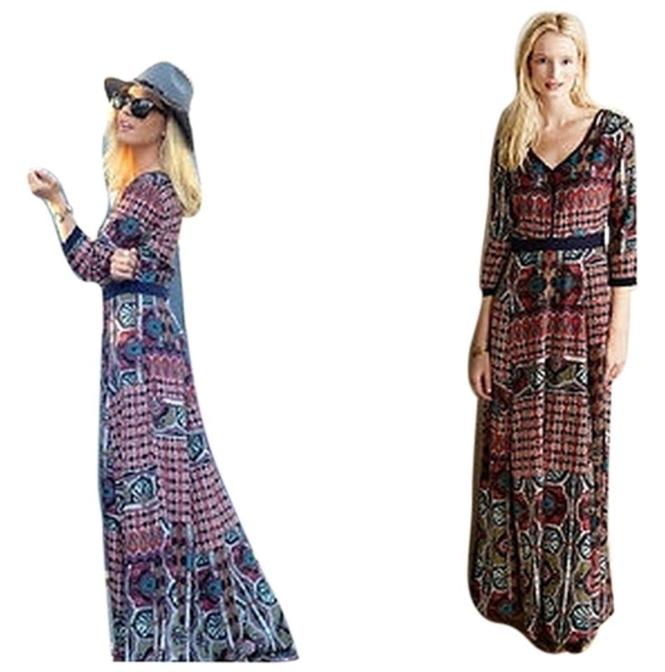 5fb4e5451f2d3f Maxi Dress by Anthropologie Patchwork Maxi By Chloe Oliver Image 0 ...