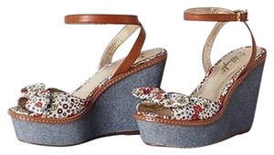 Anthropologie Denimbloom Wedges By Sandals