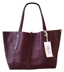 Annabel Ingall Tote in Burgundy