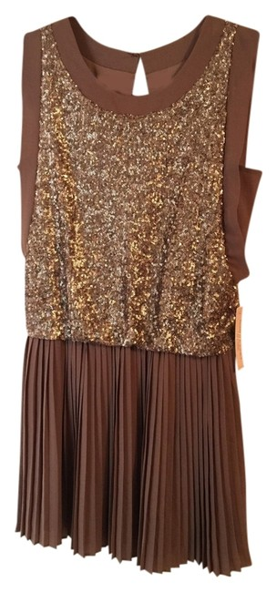 Preload https://item1.tradesy.com/images/romeo-and-juliet-couture-tan-mocha-brown-gold-sequence-detailes-mini-night-out-dress-size-6-s-6147025-0-0.jpg?width=400&height=650