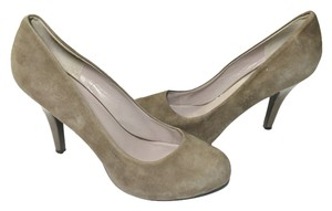 Nine West #heels #suedeheels Taupe Pumps
