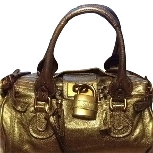 Chloé Satchel in Gold