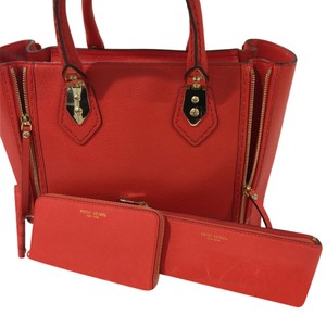 Henri Bendel Satchel in Orange