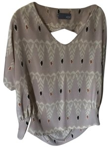 Myne Top Tan multi