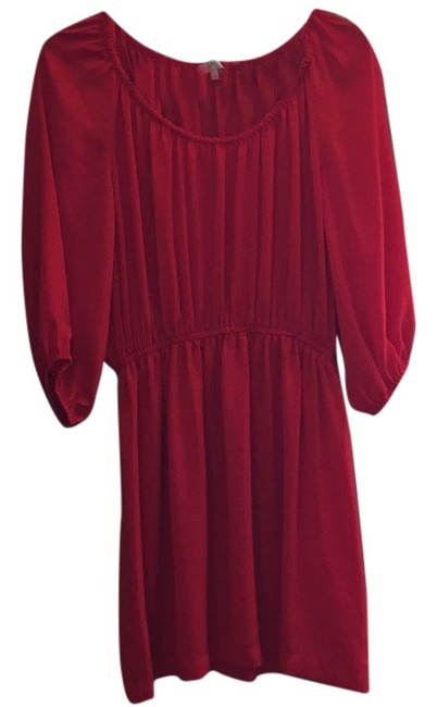 Preload https://item1.tradesy.com/images/joie-red-above-knee-night-out-dress-size-8-m-6148420-0-0.jpg?width=400&height=650
