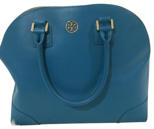 Preload https://item2.tradesy.com/images/tory-burch-robinson-dome-electric-eel-leather-satchel-6148441-0-2.jpg?width=440&height=440