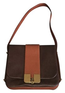 Marc Jacobs Brown, Orange, Gold Messenger Bag
