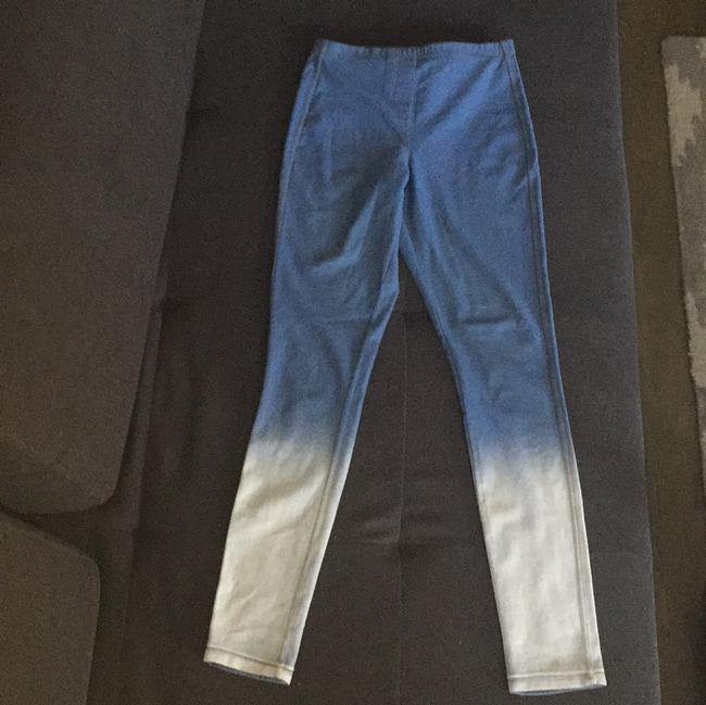 Topshop Ombre Pants Blue Leggings