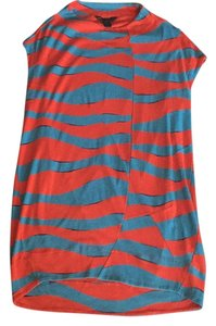 Marc Jacobs short dress Blue, orange Beach Wear on Tradesy