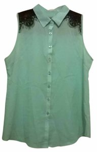 Button Down Shirt Mint