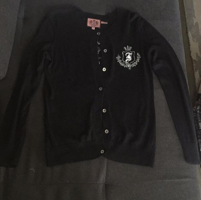 Preload https://item1.tradesy.com/images/juicy-couture-cardigan-blac-6149650-0-0.jpg?width=400&height=650