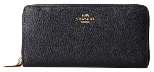 Item - Black with Gold Hardware Carlyle Madison Wallet