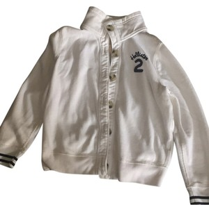 Hollister White, navy Jacket